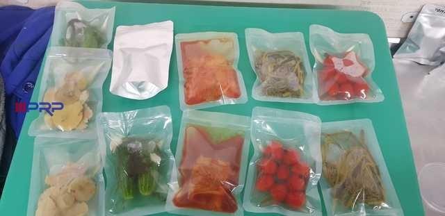 эксперимент с овощными компонентами в реторт пакетах